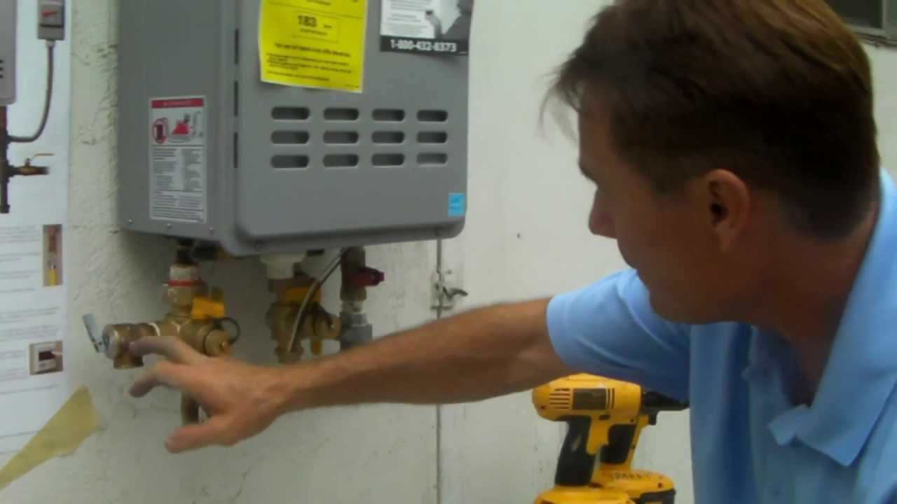 Tankless Water Heater Installation Part 1