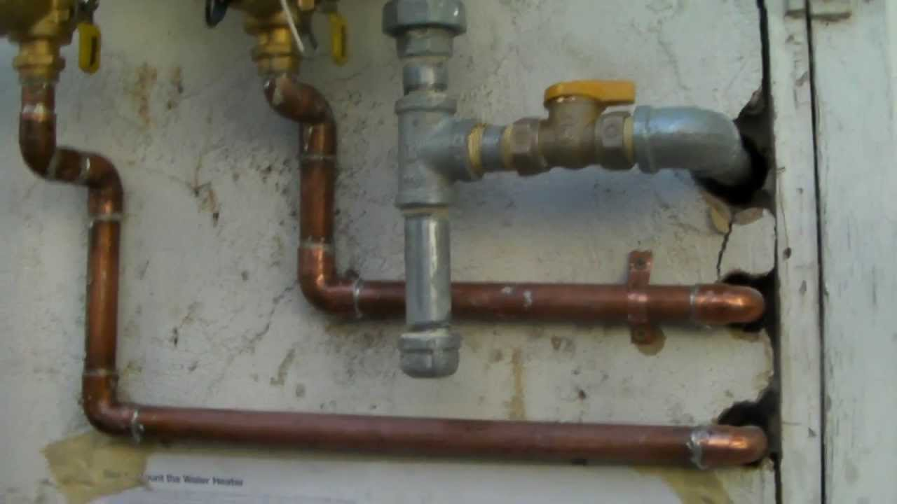 Tankless Water Heater Installation Part 2