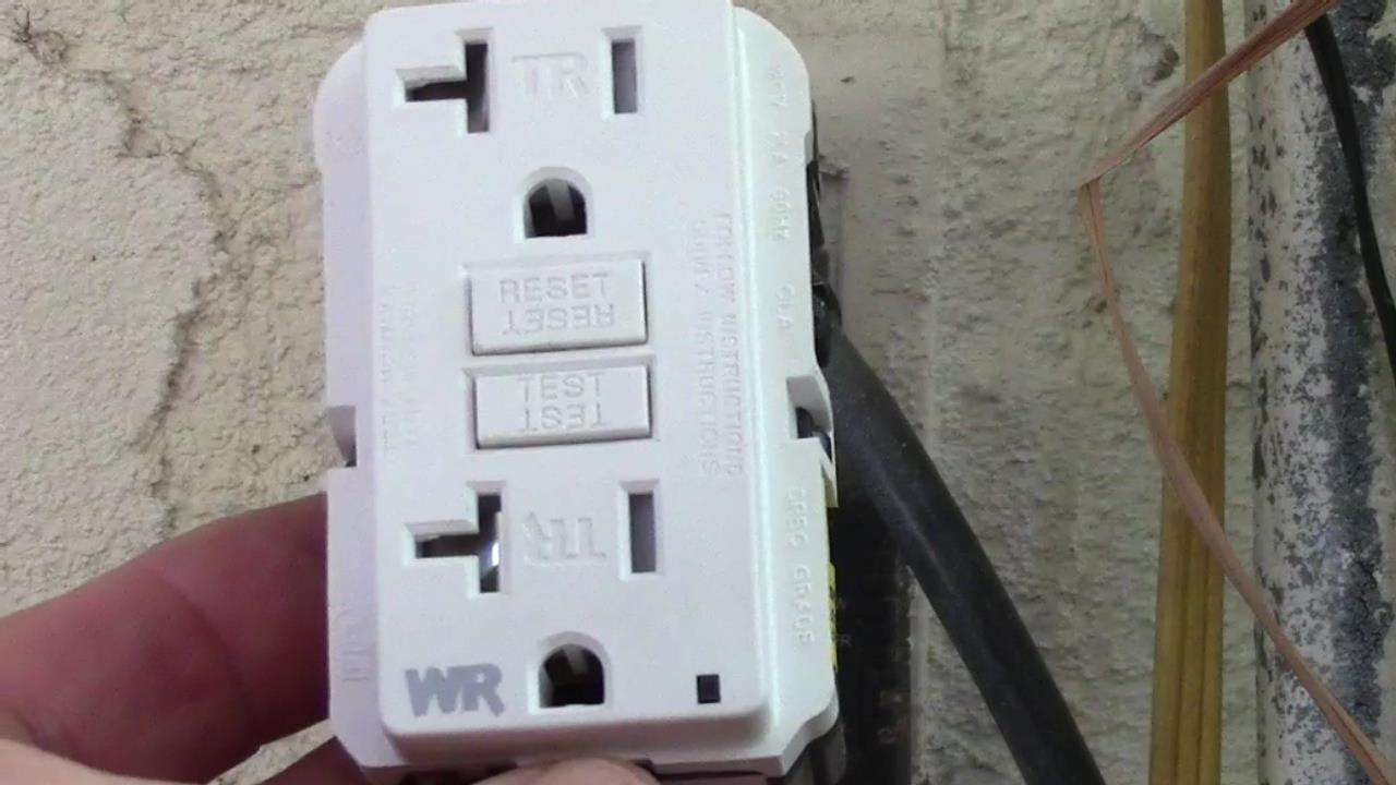 How To Install an Exterior GFCI Receptacle When You Have no Ground Wire