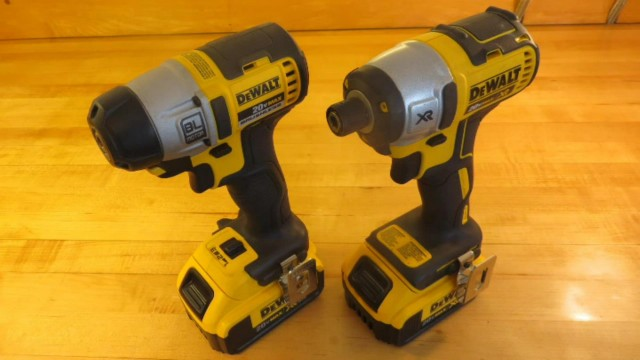 DeWalt DCF895 v DCF886 Brushless Impact Driver Comparison