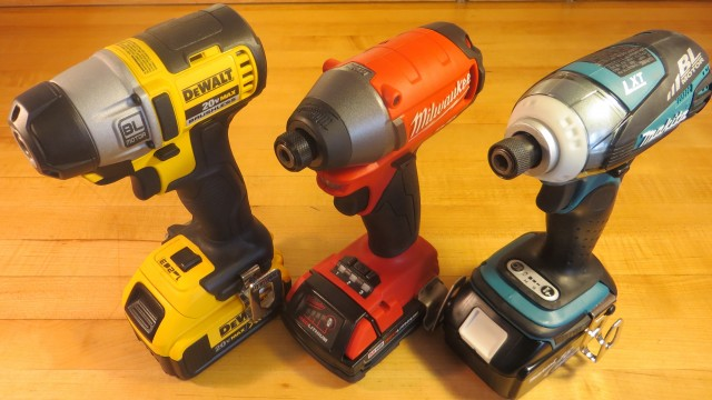 DeWalt 895 vs Milwaukee FUEL vs Makita 3-Speed Impact Comparisons