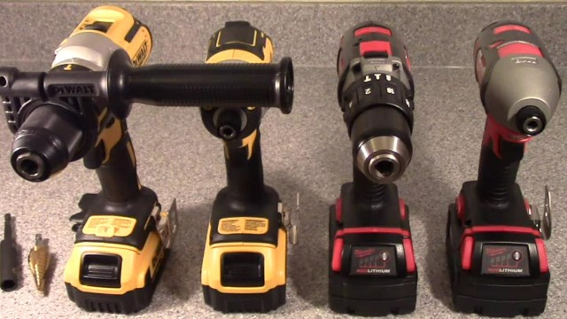 Brushless DeWalt vs Brushed Milwaukee Combo Set Comparisons