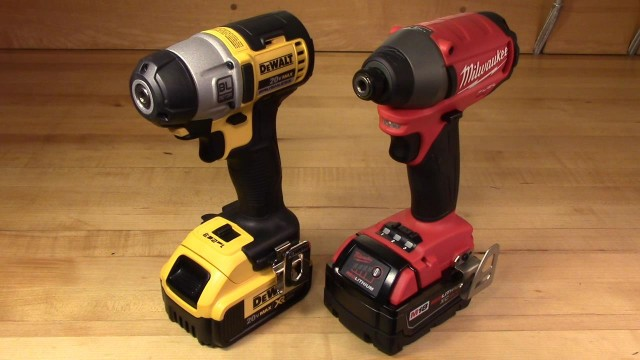 DeWalt vs Milwaukee FUEL Brushless 3-Speed Impact Driver Comparisons (DCF895 v 2653-20)