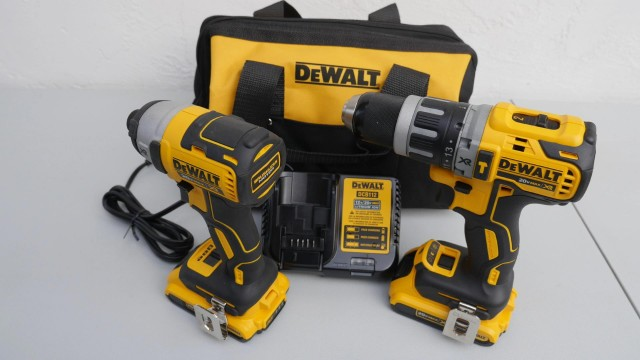 DeWalt DCK287D2 2 Tool Kit: DCF887 Impact and DCD796 Hammerdrill Review