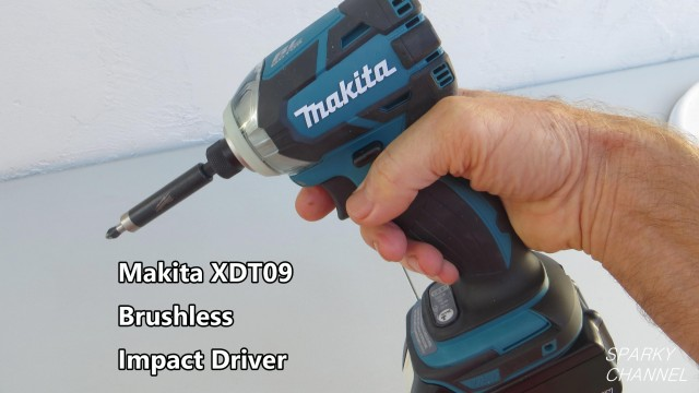 Makita XDT09 Brushless Impact Driver Review and Demonstration