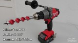 Milwaukee New M18 Fuel 2704 Hammer Drill/ Driver Review and Demonstration