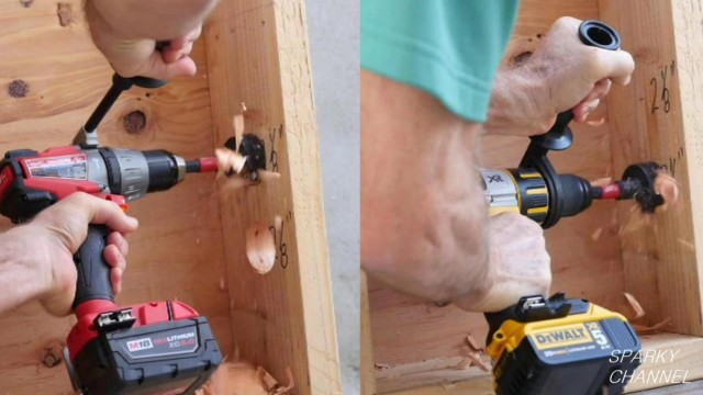 Milwaukee 2704 vs DeWalt DCD995 Hammer Drill/ Driver Face- Off