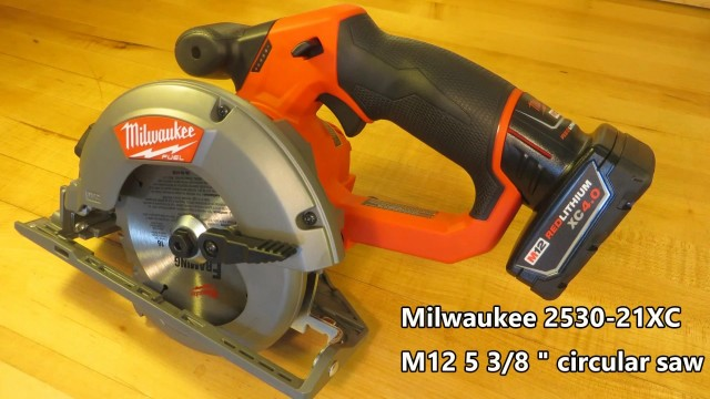 Milwaukee M12 Circular Saw Review and Demonstration (2530-21XC)