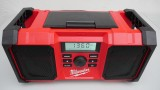 Milwaukee M18 New Jobsite Radio 2890-20 Review and Demonsration