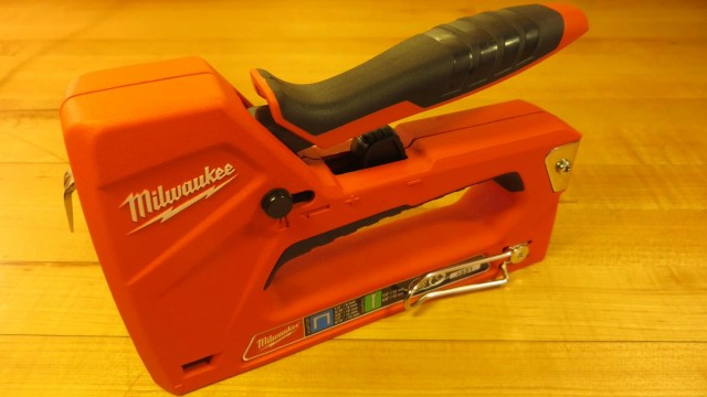 Milwaukee Hand Staple and Nail Gun Demonstration and Review