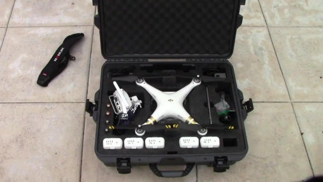 Nanuk 945 Case for the DJI Phantom 3 Quadcopter Review