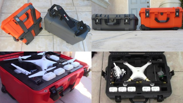 Nanuk 945 vs Nanuk 950 DJI Phantom 3 Quadcopter Case Comparison