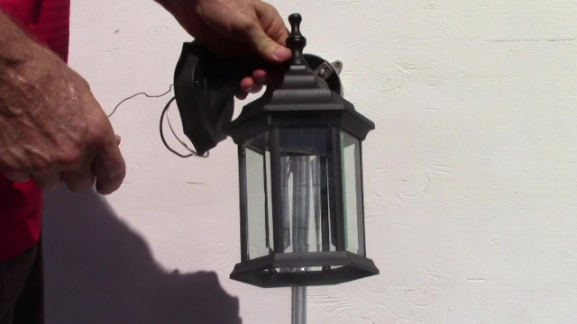 How To Install a Westinghouse Cast Aluminum Exterior Light