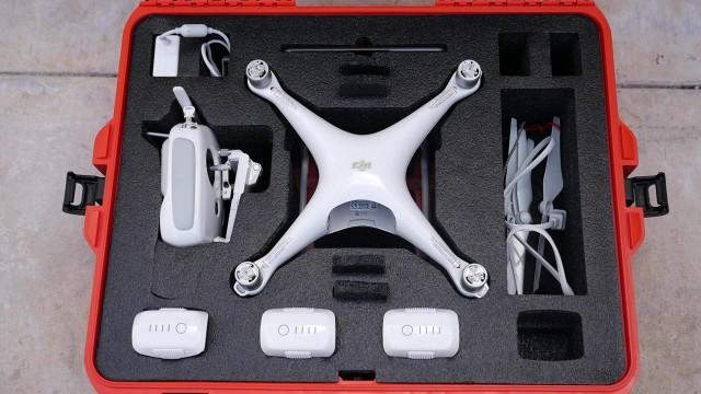 Nanuk 945 Case for DJI Phantom 4 Quadcopter Review and Demonstration