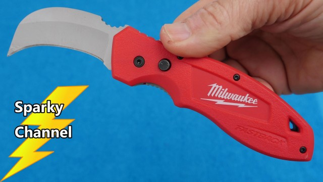 Milwaukee Fastback Hawkbill Flip Knife Review
