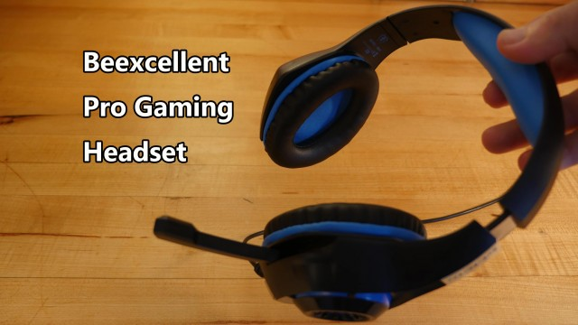 Beexcellent Gaming Headset Review with Dictation Software Use