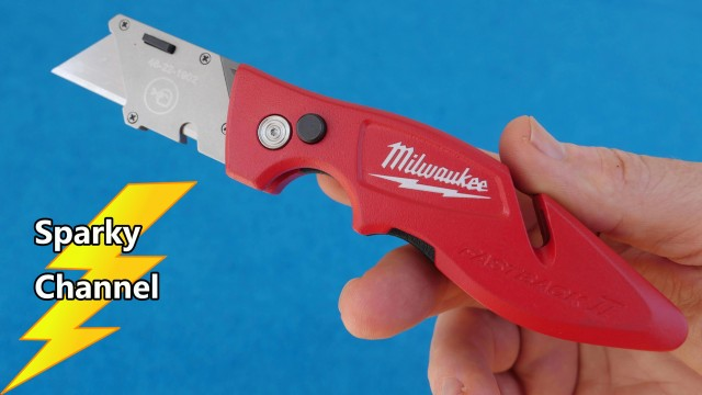 Milwaukee Fastback II Flip Razor Knife