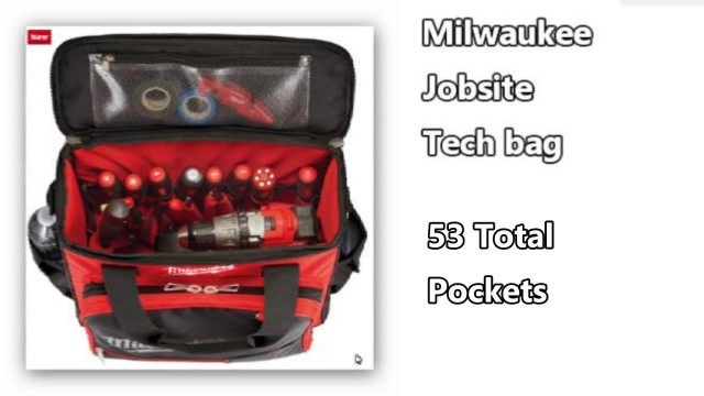 Milwaukee Jobsite Tech Bag