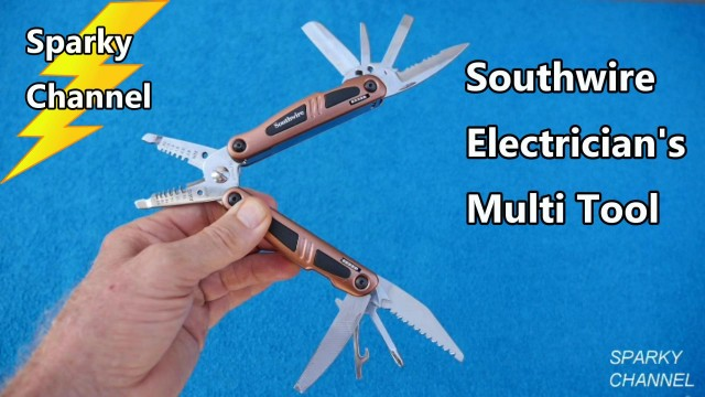 Southwire Electrician's Multi Tool Review and Demonstration