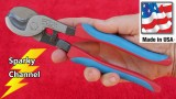 Channellock 911CB Cable Cutters Review and Demonstration