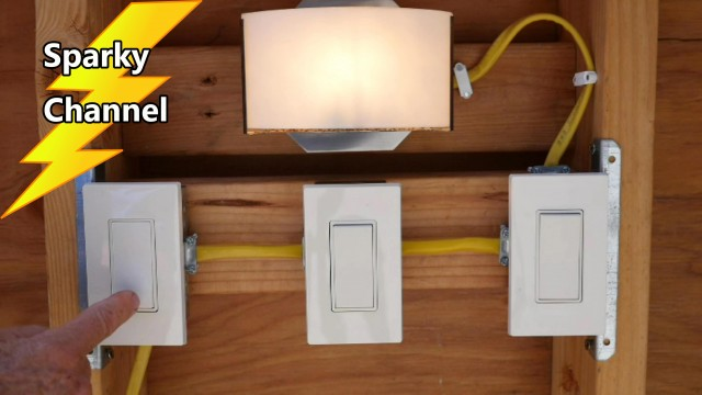 How To Wire a 4-way Switch