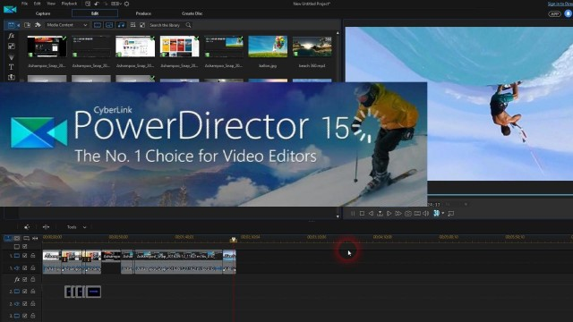 New: Cyberlink PowerDirector 15 With Clip Blending and 360° Video Editing