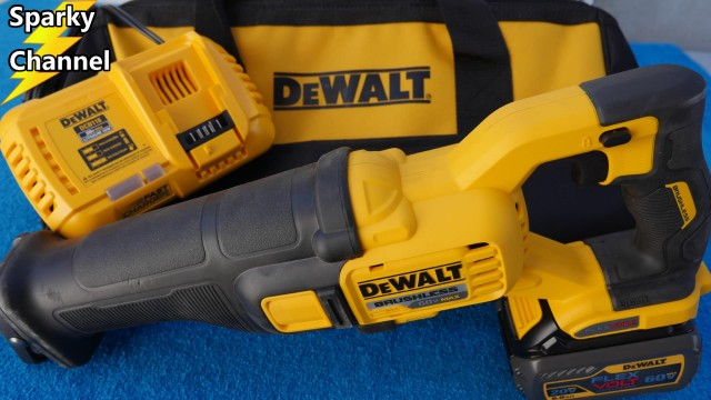 DeWalt  Flexvolt 60V Max Reciprocating Saw Review and Demonstration