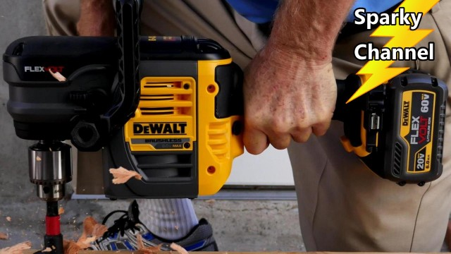 DeWalt 60V MAX Stud and Joist 1/2″ Drill Review and Demonstration