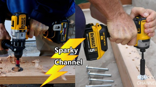 DeWalt 20V Max Flexvolt DCK299D1T1 Impact Driver and Hammer Drill Combo Review and Demonstration