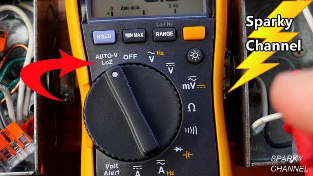 Dual Impedance, LoZ and Ghost Voltages on the Fluke 117 Electrician's Digital Multimeter