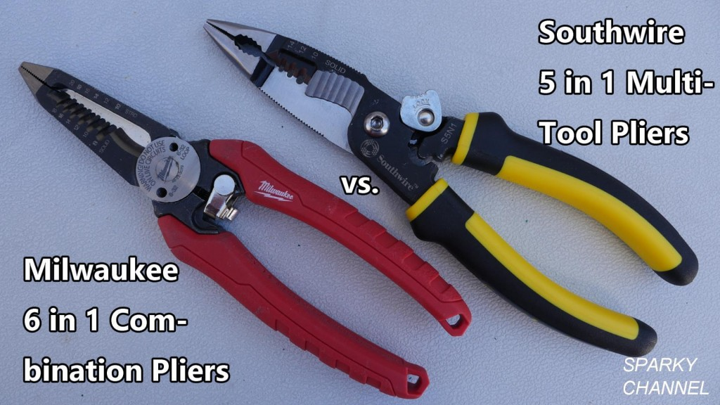 Milwaukee 6 in 1 vs Southwire 5 in 1 Multi-Tool Electrical ...