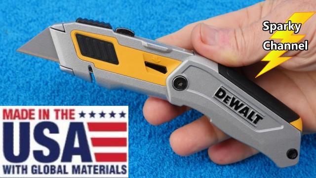 New DeWalt Premium Folding Razor Knife DWHT10296 Review