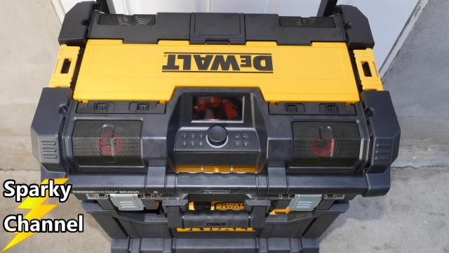 DeWalt ToughSystem Music Player Review DWST08810