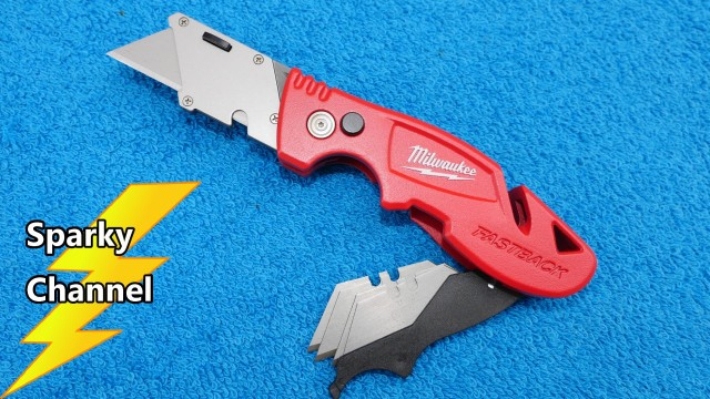 Milwaukee New Fastback 3 Flip Utility Knife with Blade Storage 48-22-1903