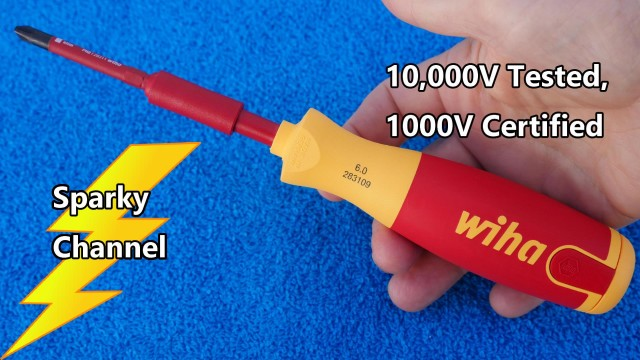Wiha 1000V Insulated SlimLine Precision Pop Up Screwdriver Set 28394