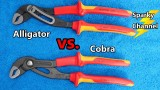 Knipex Alligator vs Cobra Water Pump Pliers