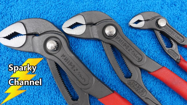 Knipex Cobra 3 Piece Pliers Set With Knipex Pouch 9K 00 80 122 US