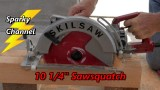 Skilsaw 10 1/4″ Magnesium Sawsquatch Circular Saw Review and Demonstration