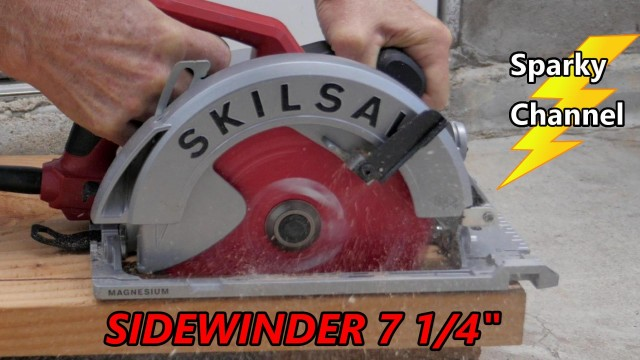 Skilsaw Sidewinder 7 1/4″ 15 Amp Magnesium Circular Saw Review