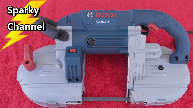 Bosch Deep Cut Band Saw GCB10-5 Review and Demonstration