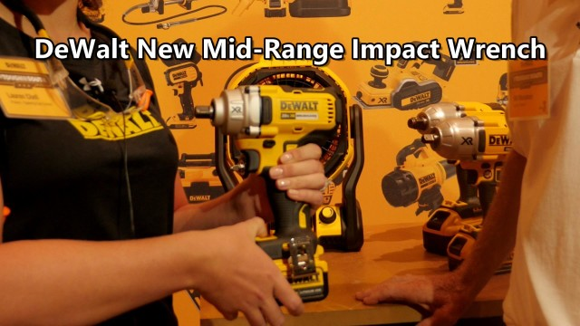 DeWalt 20V Max Mid Range Impact Wrench DCF894P2 Preview from Nashville Media Event 2017