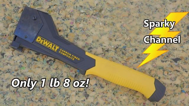 DeWalt Carbon Fiber Hammer Tacker DWHT75900