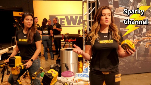 DeWalt Paddle Mixer DCD240X2 New from Nashville Media Event