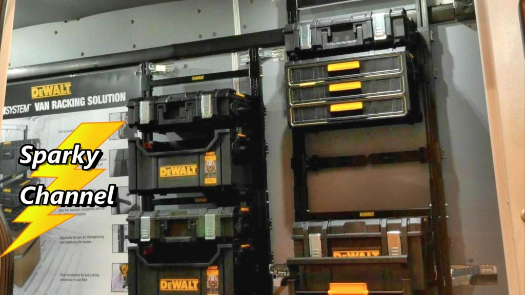 Dewalt Tough System Van Racking System New From Nashville