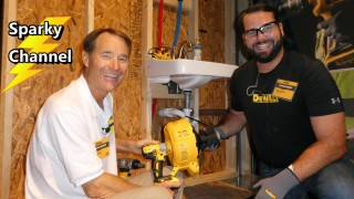 DeWalt 20V Max Drain Snake DCD200D1 New From Nashville Media Event 2017