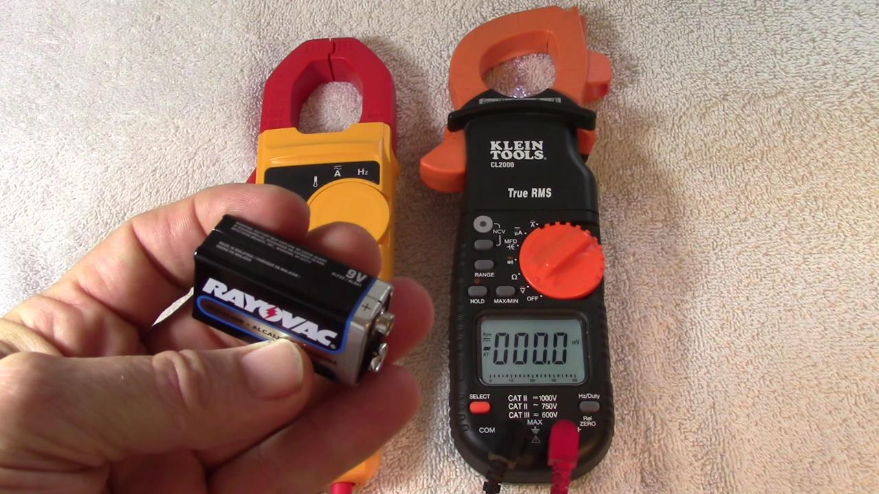 Fluke, Klein and Fieldpiece Clamp Meters: Getting Correct Ohms Readings