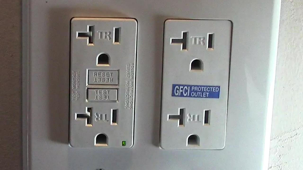 how to wire a double duplex receptacle in your garage with gfci protection  | sparky channel videos  sparky channel videos