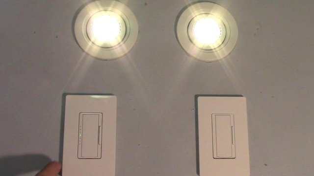 Install Lithonia Recessed Lights With Lutron Digital Dimmers