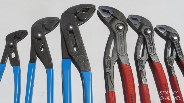 Knipex vs Channellock 3 Piece Adjustable Pliers Set Comparison