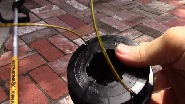 How To Replace Dual String Trimmer Line for the DeWalt Brushless String Trimmer
